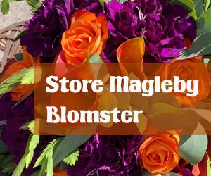 Store Magleby blomster TAK