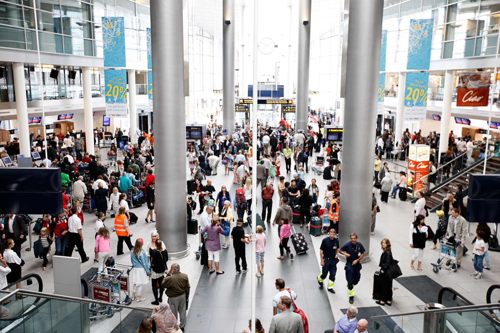 Rejsefeber: Travl Juni I Københavns Lufthavn